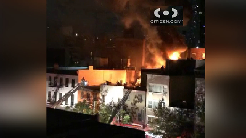 Chinatown Fire Leaves 3 Fdny Firefighters Injured In New York City Abc7 New York