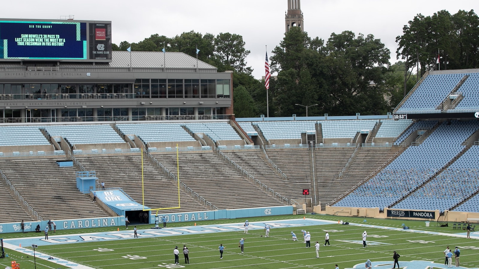 Charlotte cancels football game at UNC after players test ...North Carolina Football Game Cancelled