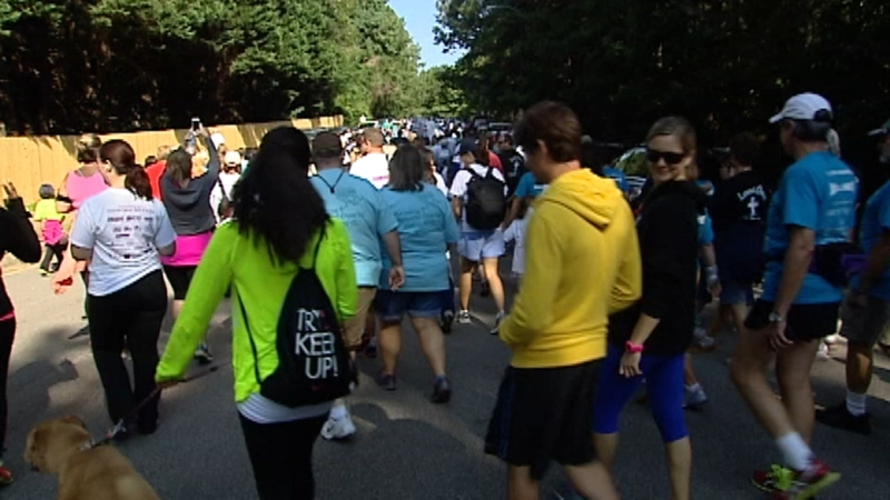 18th Annual Gail Parkins Memorial Ovarian Cancer Walk 5k Abc11 Raleigh Durham