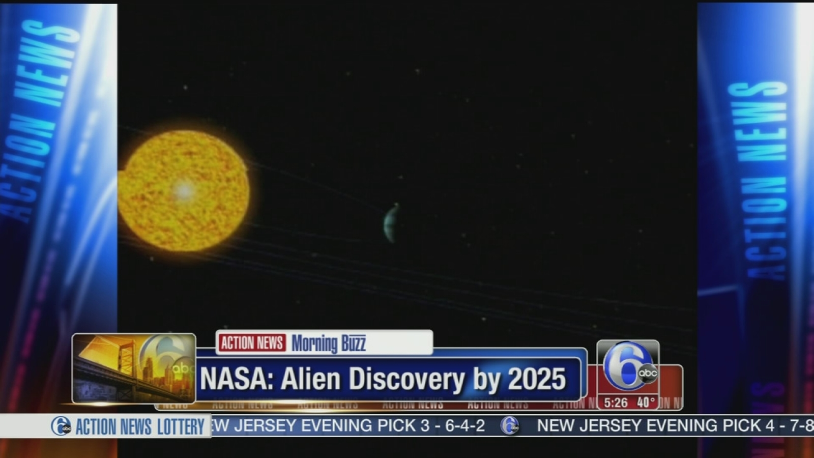 NASA: Alien life on other planets by 2025 | 6abc.com