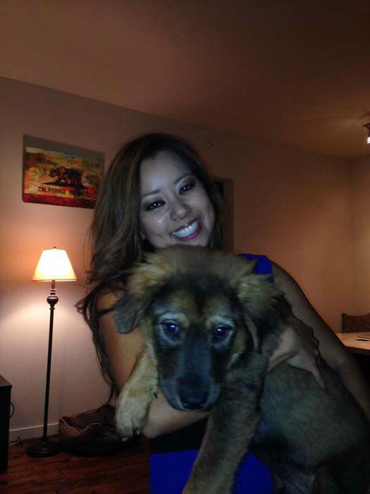 "<div class=""meta image-caption""><div class=""origin-logo origin-image none""><span>none</span></div><span class=""caption-text"">Angela Chen adopted a new puppy! (KTRK Photo)</span></div>"