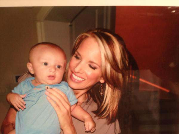 <div class='meta'><div class='origin-logo' data-origin='none'></div><span class='caption-text' data-credit='KTRK Photo'>Ilona Carson with her little boy Pierce, who just turned 3!</span></div>
