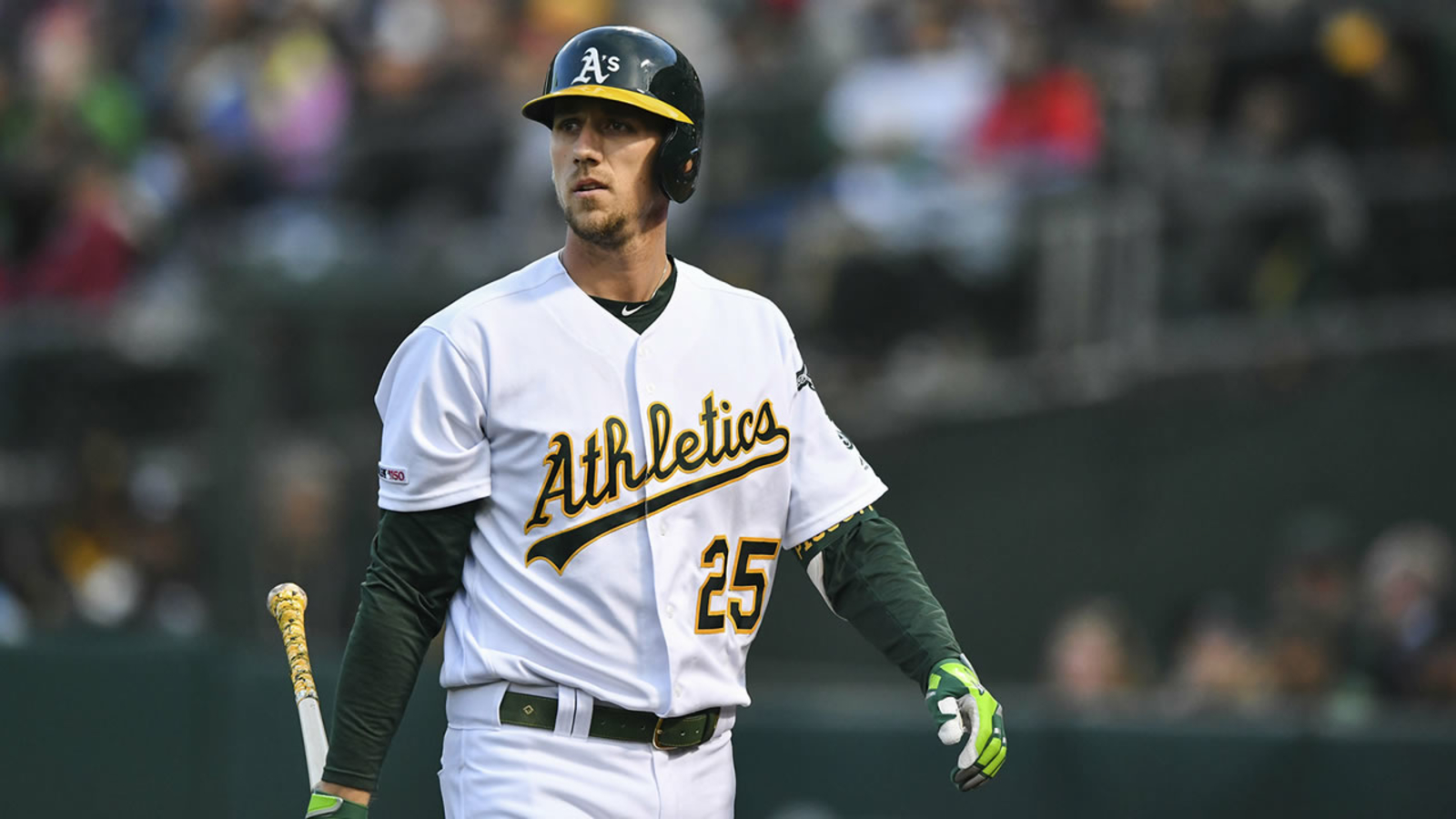 Pandemic isn't stopping A's Piscotty's fight for ALS cure