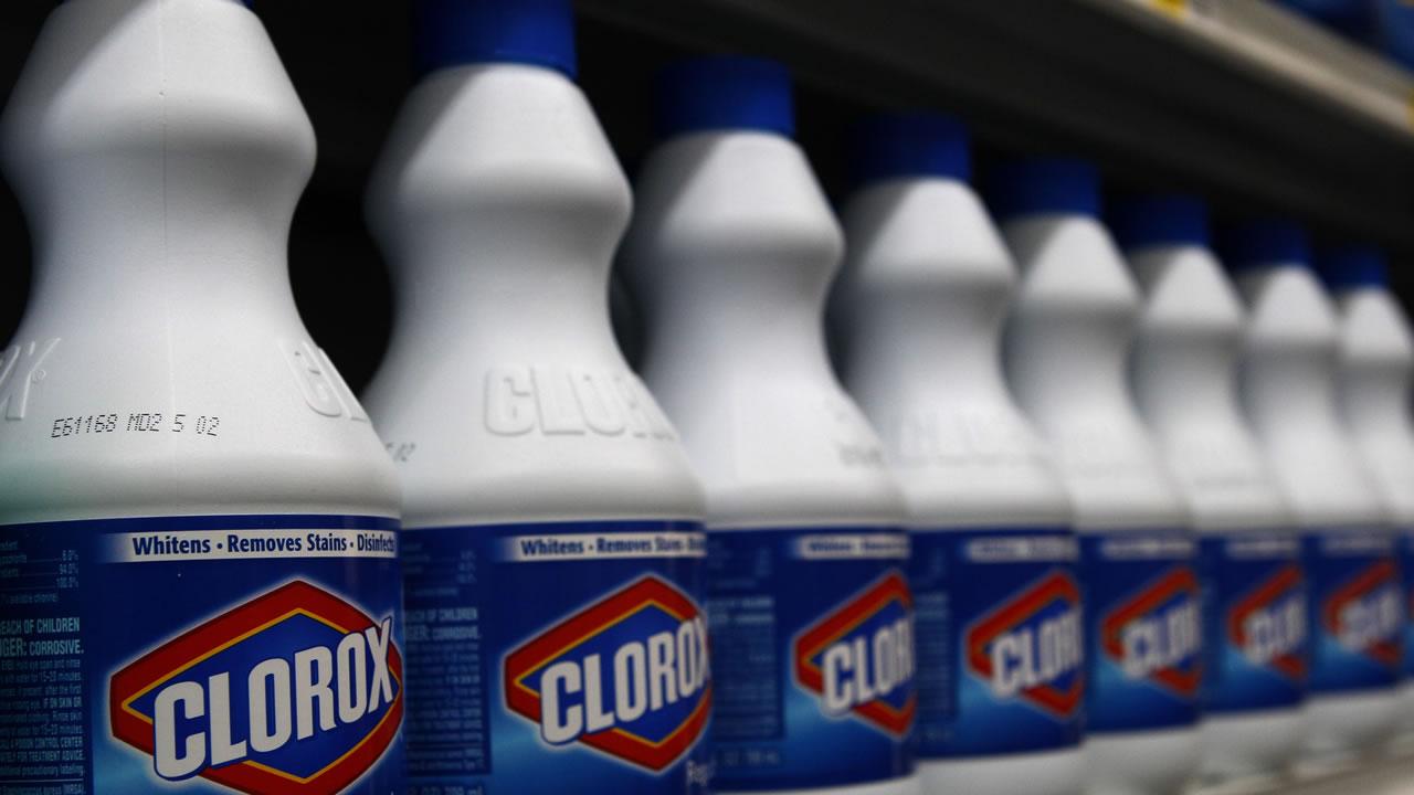 Clorox bottles