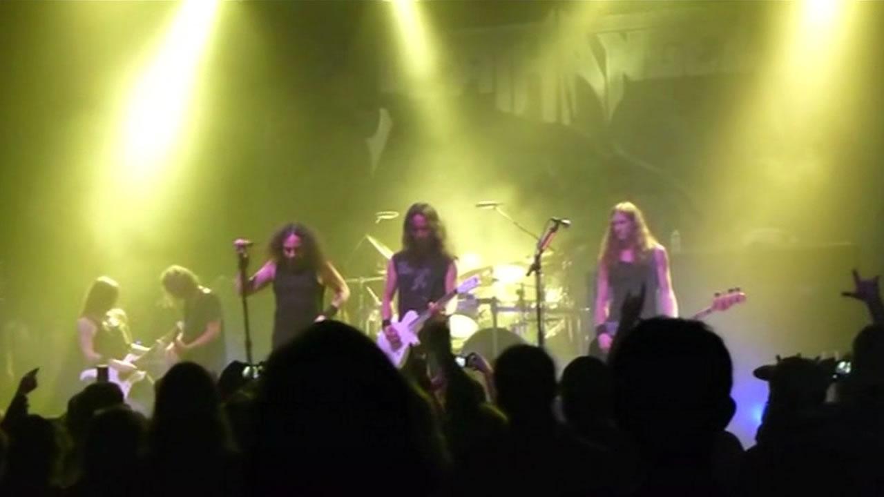"""The horror heavy metal event """"Kirk Von Hammett's Fear FestEvil"""""""