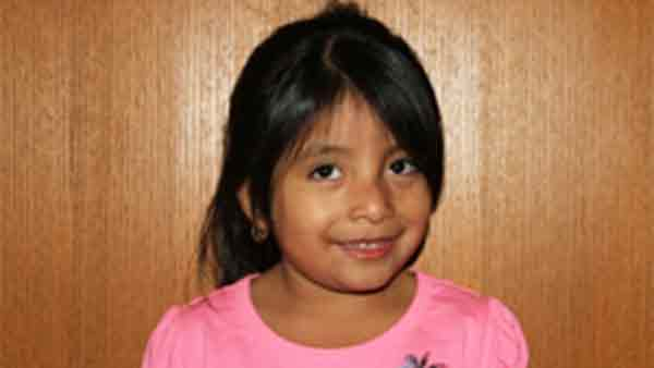San Bernardino police are trying to identify a young girl after her mother dropped her off at an acquaintance's home and never came back for her on Thursday, April 9, 2015.