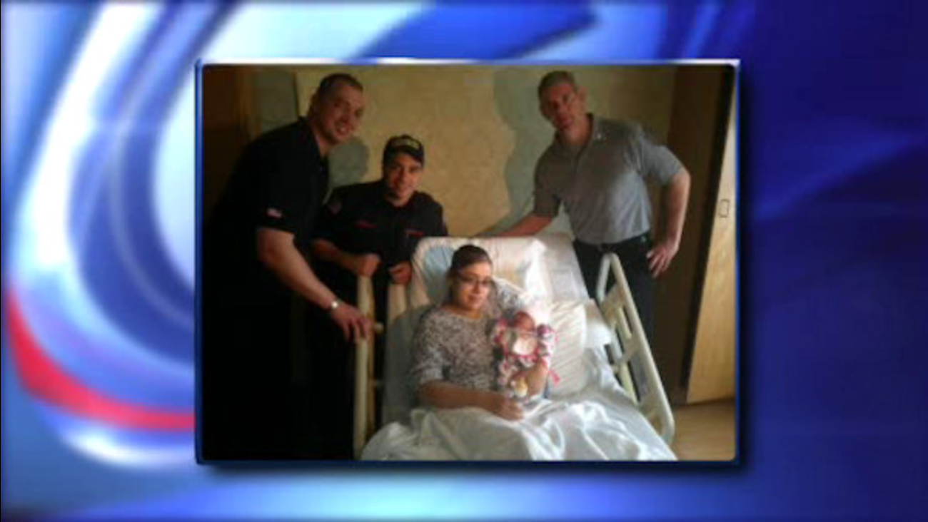 Firefighters Deliver Save Baby With Umbilical Cord Wrapped Around