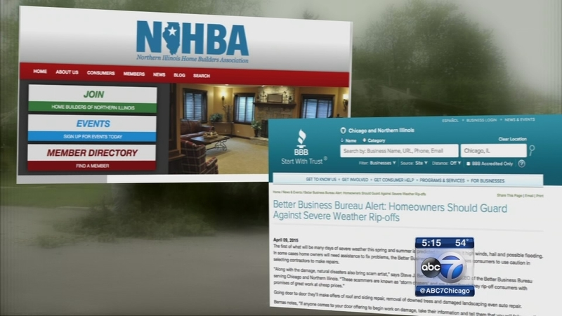 Bbb Warns Of Scammers Who May Prey On Storm Victims Abc7 Chicago