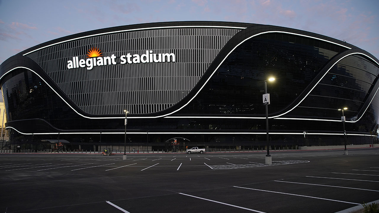 "The new home of the Las Vegas Raiders, Allegiant Stadium, is also nicknamed the ""Death Star."""
