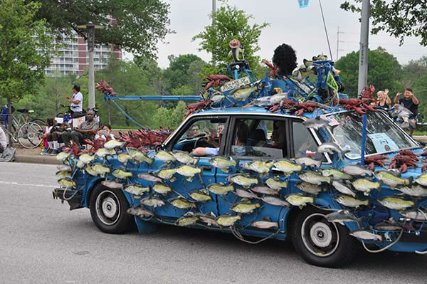 """<div class=""""meta image-caption""""><div class=""""origin-logo origin-image none""""><span>none</span></div><span class=""""caption-text"""">From the wild and wacky, to the cool and creative, vehicles of all shapes and sizes joined in the Art Car Parade, Saturday, April 11, 2015 (KTRK Photo)</span></div>"""