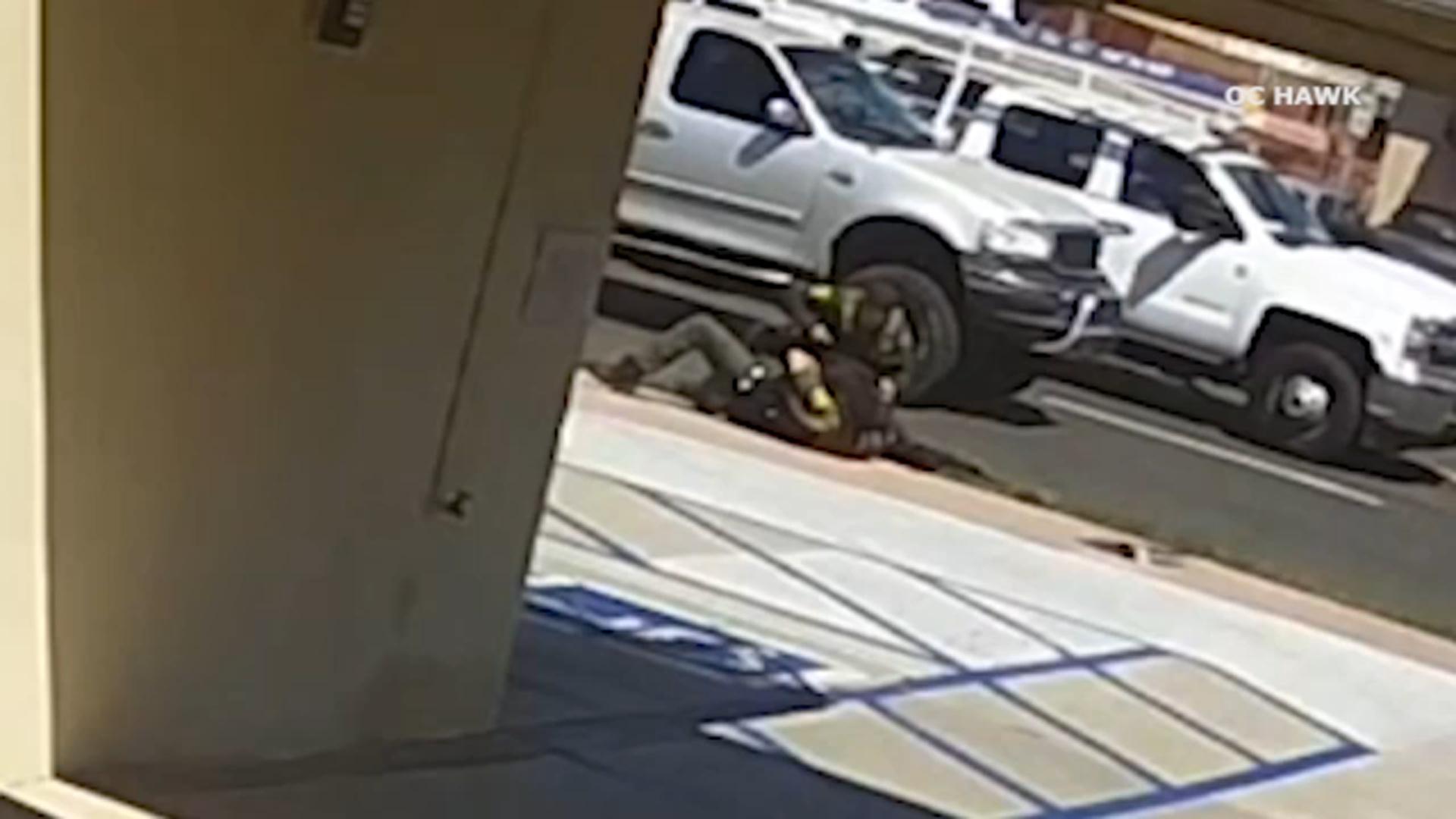 Video shows struggle between homeless man, OC deputies before fatal shooting in San Clemente