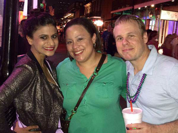"""<div class=""""meta image-caption""""><div class=""""origin-logo origin-image none""""><span>none</span></div><span class=""""caption-text"""">Pooja Lodhia met ABC-13 viewers while in New Orleans (KTRK Photo)</span></div>"""