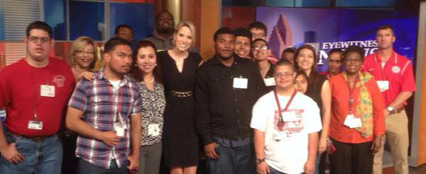 """<div class=""""meta image-caption""""><div class=""""origin-logo origin-image none""""><span>none</span></div><span class=""""caption-text"""">We had a great group from Waltrip HS stop by the studio (KTRK Photo)</span></div>"""