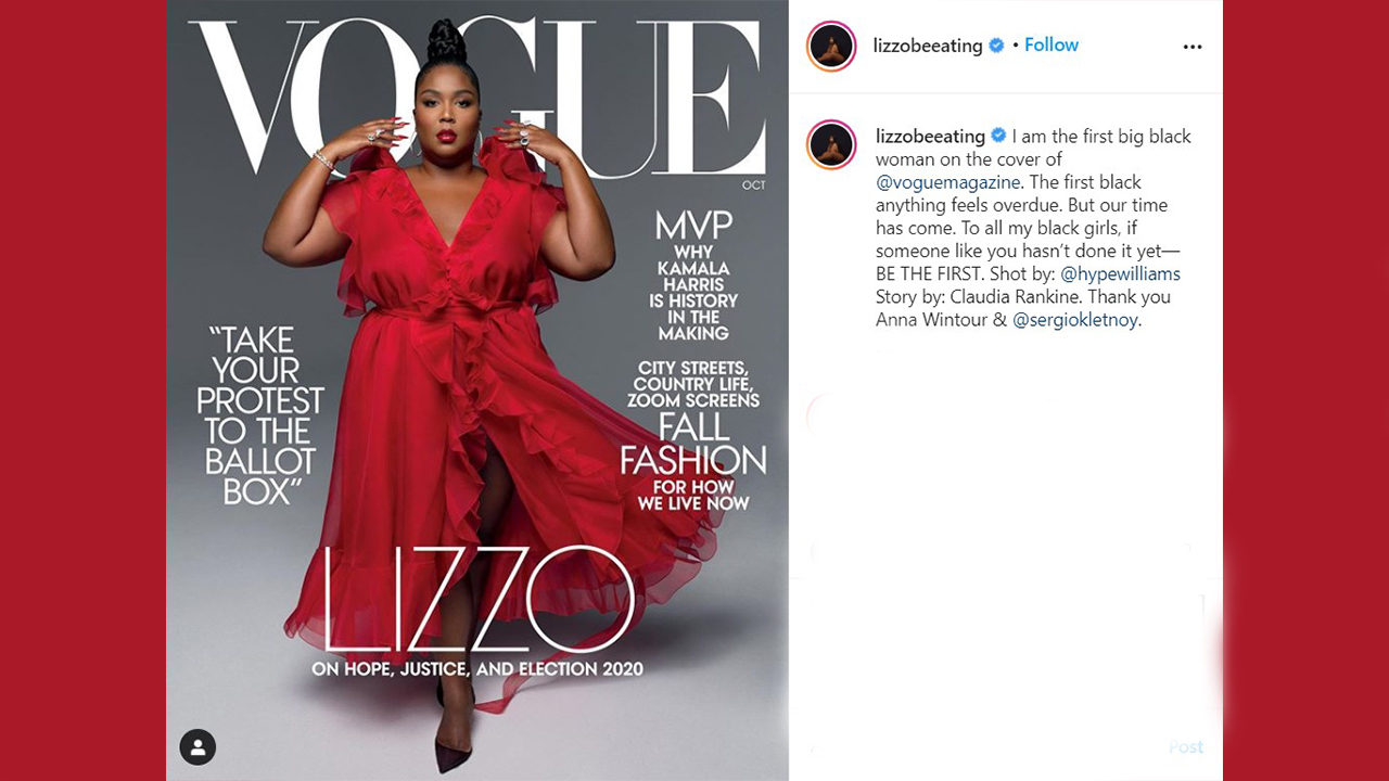 Our Time Has Come Lizzo Makes Waves As Black Plus Size Vogue Magazine Cover Model Abc7 San Francisco