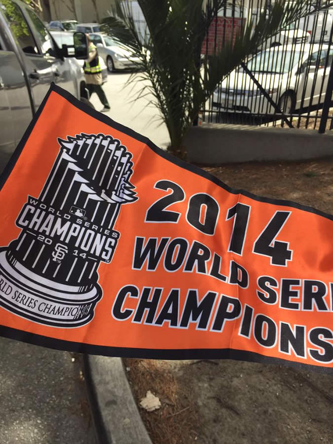 "<div class=""meta image-caption""><div class=""origin-logo origin-image none""><span>none</span></div><span class=""caption-text"">Let's play ball - it's opening day at AT&T Park!  The San Francisco Giants celebrate last year's world championship with with all the fans on Monday, April 13, 2015. (KGO-TV/Janet O)</span></div>"