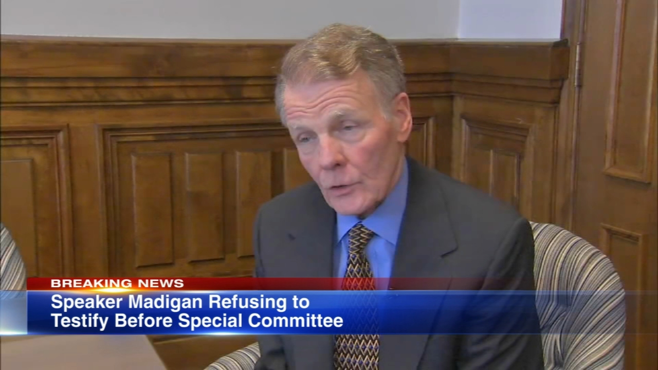 Illinois House Speaker Michael Madigan refuses to testify before special House committee investigating ComEd bribery allegations: report