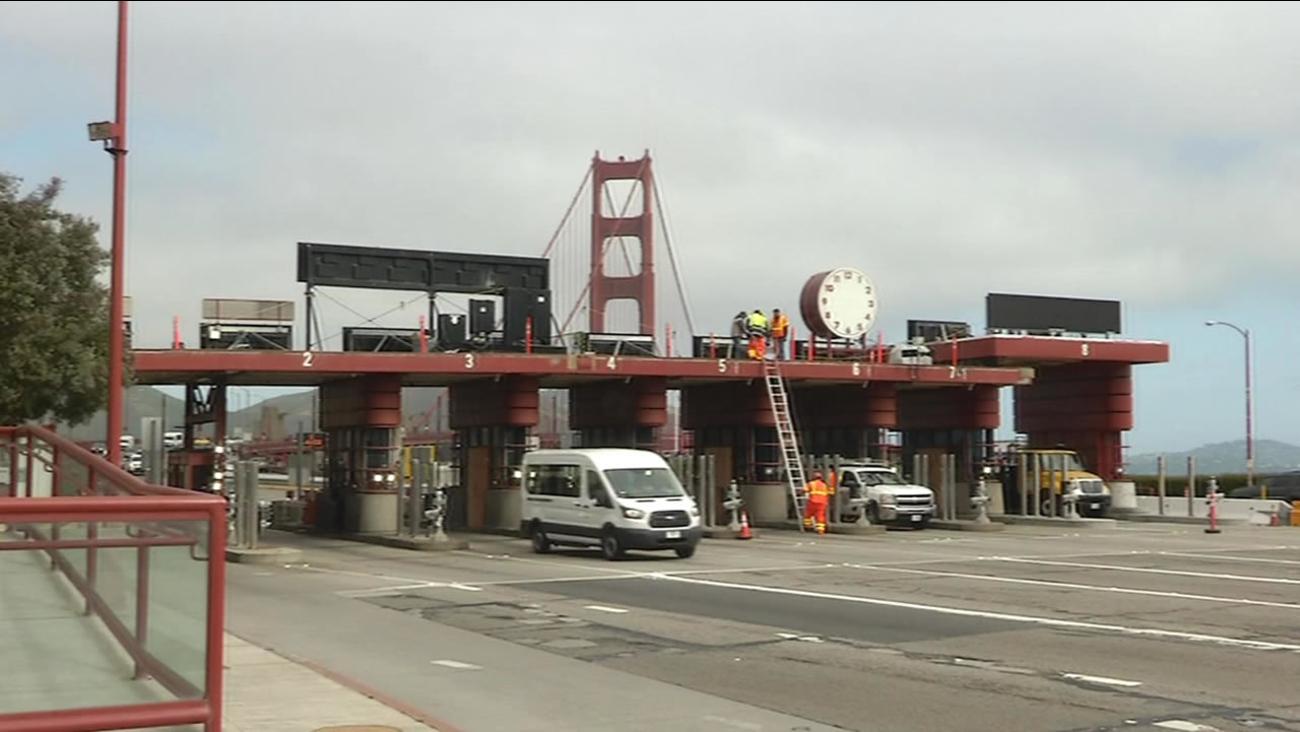 Golden Gate clock