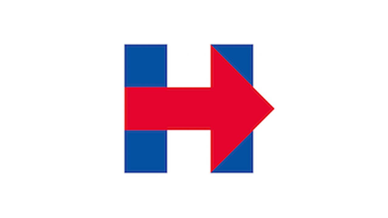 Hillary Clinton's presidential campaign logo