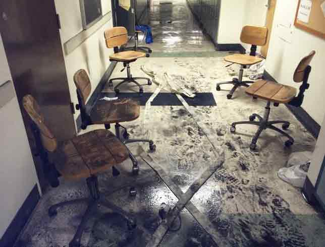 Fire breaks out inside UCLA dentistry school building | abc7 com