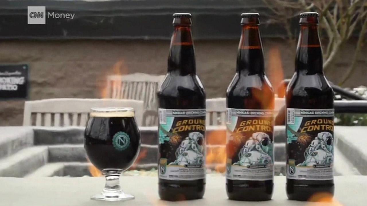 'Ground Control' beer