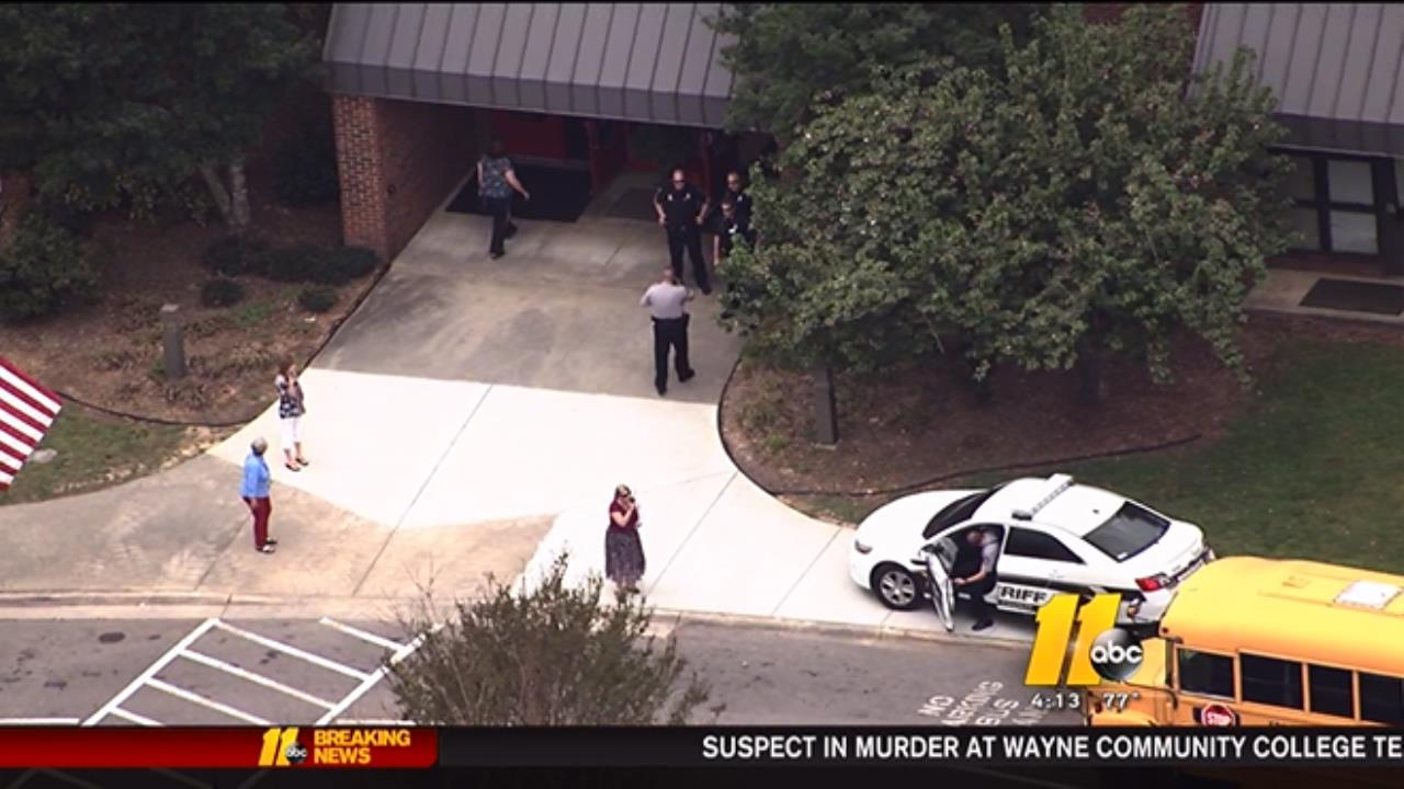 Lockdown lifted at Fuquay-Varina Elementary School