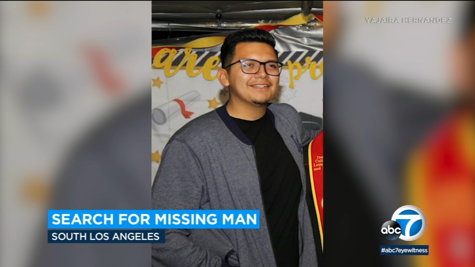 Family of missing South LA man desperate for answers after 21-year-old's car found running