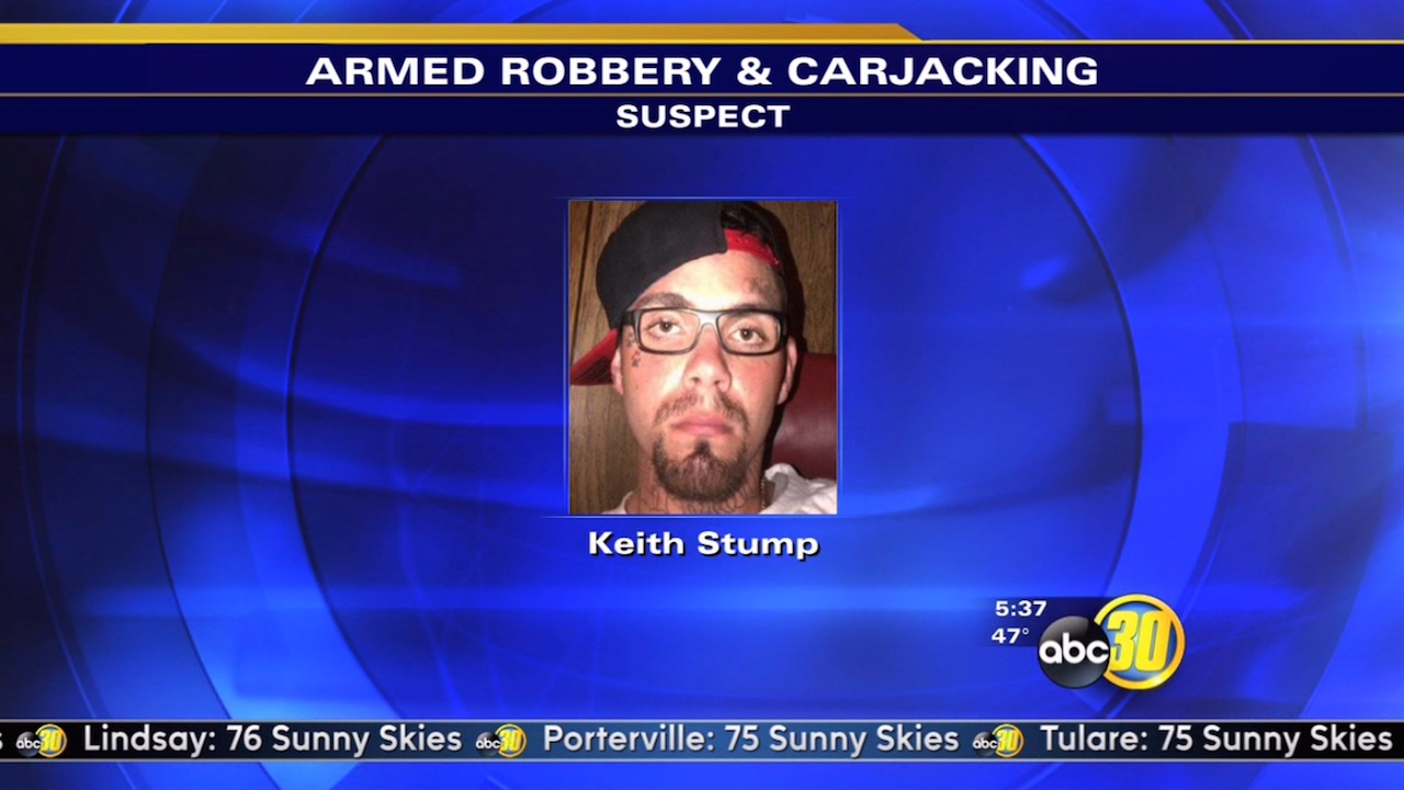 Suspect wanted in Southeast Fresno armed robbery, carjacking