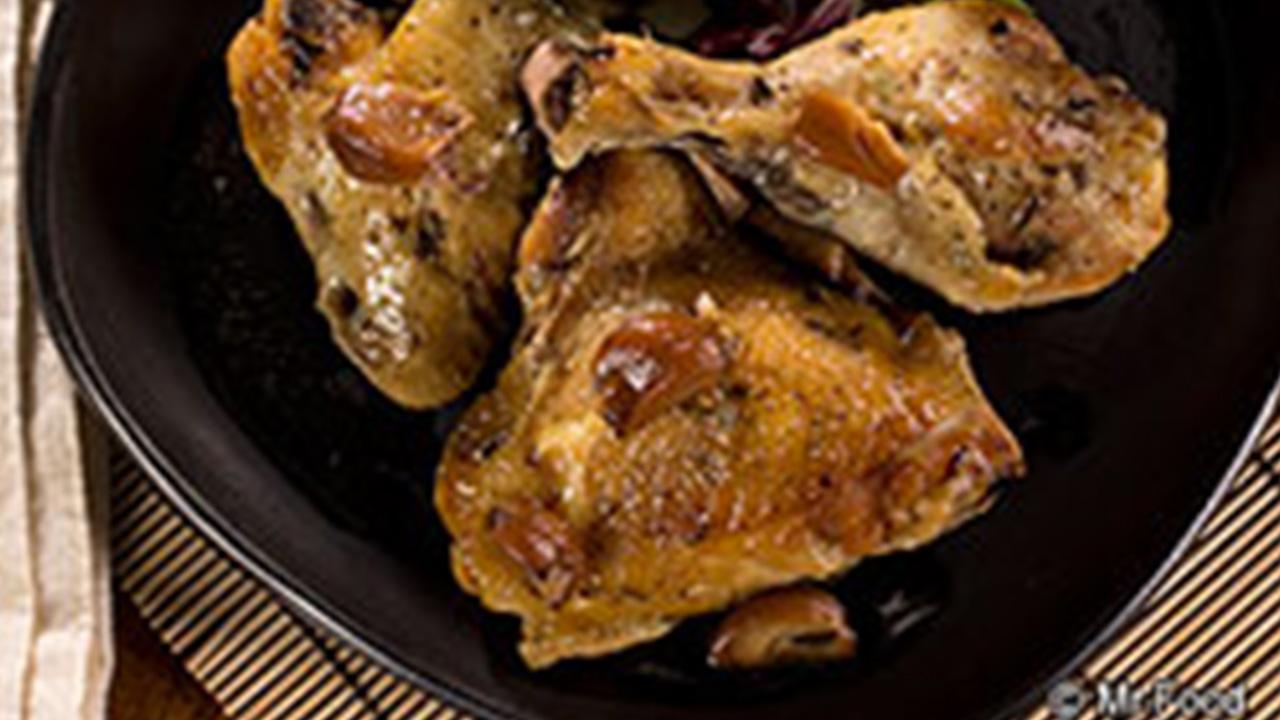 Roasted garlic chicken
