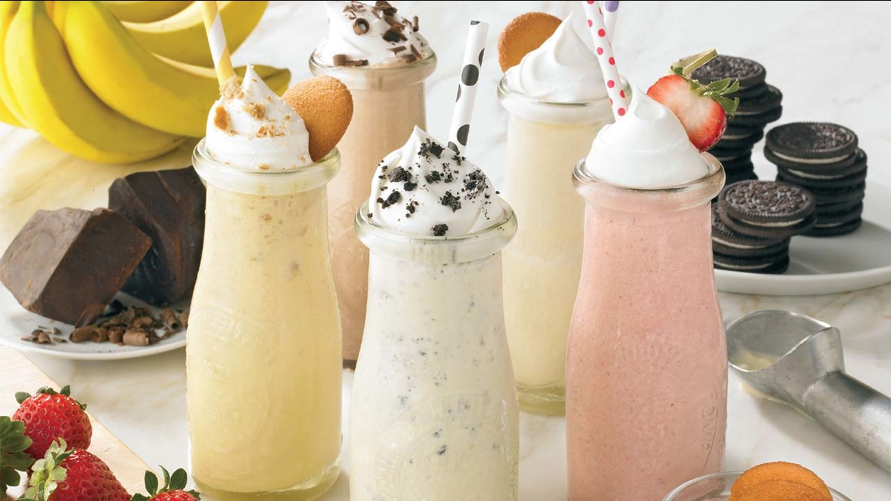 Cool down with these milkshakes!