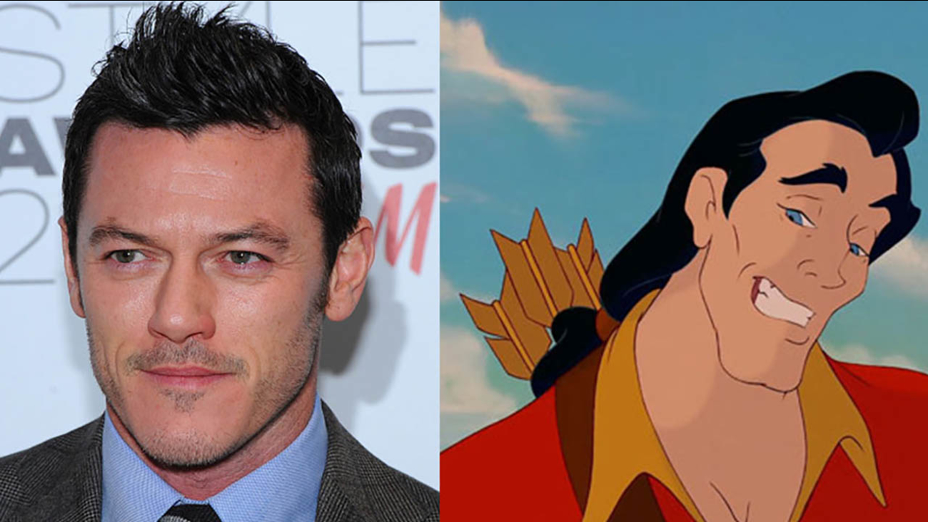 Photos Luke Evans And Josh Gad Aka Gaston And Le Fou From Beauty And The Beast Hit The Recording Studio Abc7 New York