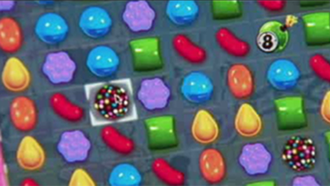 Candy Crush injury