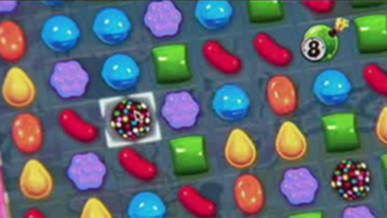 Candy Crush injury