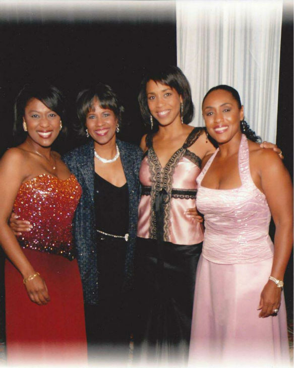 "<div class=""meta image-caption""><div class=""origin-logo origin-image none""><span>none</span></div><span class=""caption-text"">Melanie Lawson with the ladies (KTRK Photo)</span></div>"