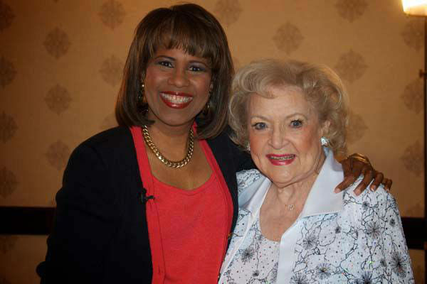 "<div class=""meta image-caption""><div class=""origin-logo origin-image none""><span>none</span></div><span class=""caption-text"">Melanie Lawson with Betty White (KTRK Photo)</span></div>"
