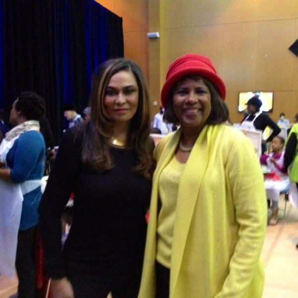 "<div class=""meta image-caption""><div class=""origin-logo origin-image none""><span>none</span></div><span class=""caption-text"">Melanie Lawson with Tina Knowles (KTRK Photo)</span></div>"