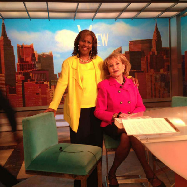 "<div class=""meta image-caption""><div class=""origin-logo origin-image none""><span>none</span></div><span class=""caption-text"">Melanie Lawson with Barbara Walters (KTRK Photo)</span></div>"