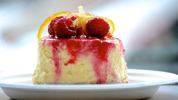 """<div class=""""meta image-caption""""><div class=""""origin-logo origin-image none""""><span>none</span></div><span class=""""caption-text"""">Magnolia's lemon raspberry cheesecake. (Sabrina Szteinbaum)</span></div>"""