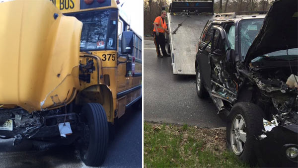 School bus crash in Gloucester Township