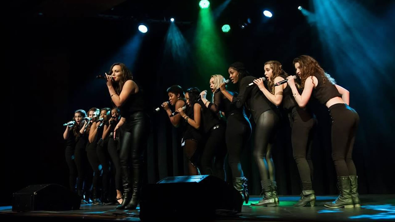 Oakland School of the Arts' a capella group, Vocal Rush. (Photo courtesy Osa Vocal Rush)