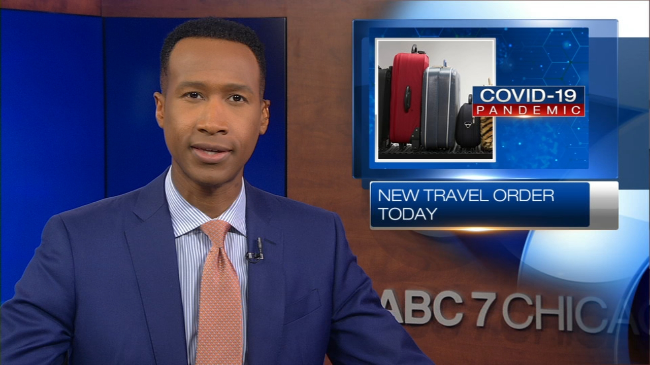 Chicago Quarantine Covid 19 Travel Order Kentucky Several States Added Back To List Abc7 Chicago
