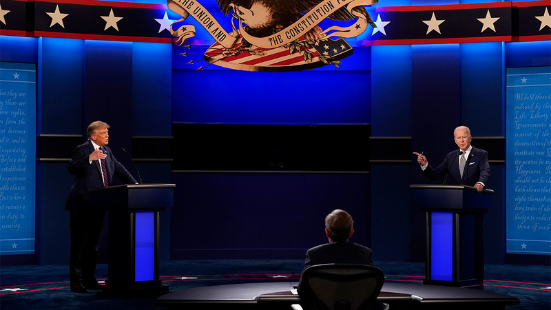 Presidential Debate Schedule In Biden Trump 2020 Election Released Second Town Hall Debate Canceled Abc7 Chicago