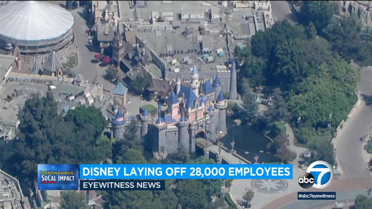 Disney announces 28,000 layoffs amid continued closure of Disneyland