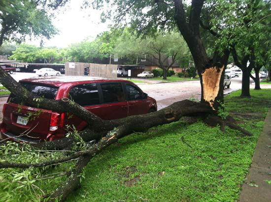 """<div class=""""meta image-caption""""><div class=""""origin-logo origin-image none""""><span>none</span></div><span class=""""caption-text"""">These photos submitted Saturday April 18, 2015 show the damage the storms left behind. (KTRK Photo)</span></div>"""