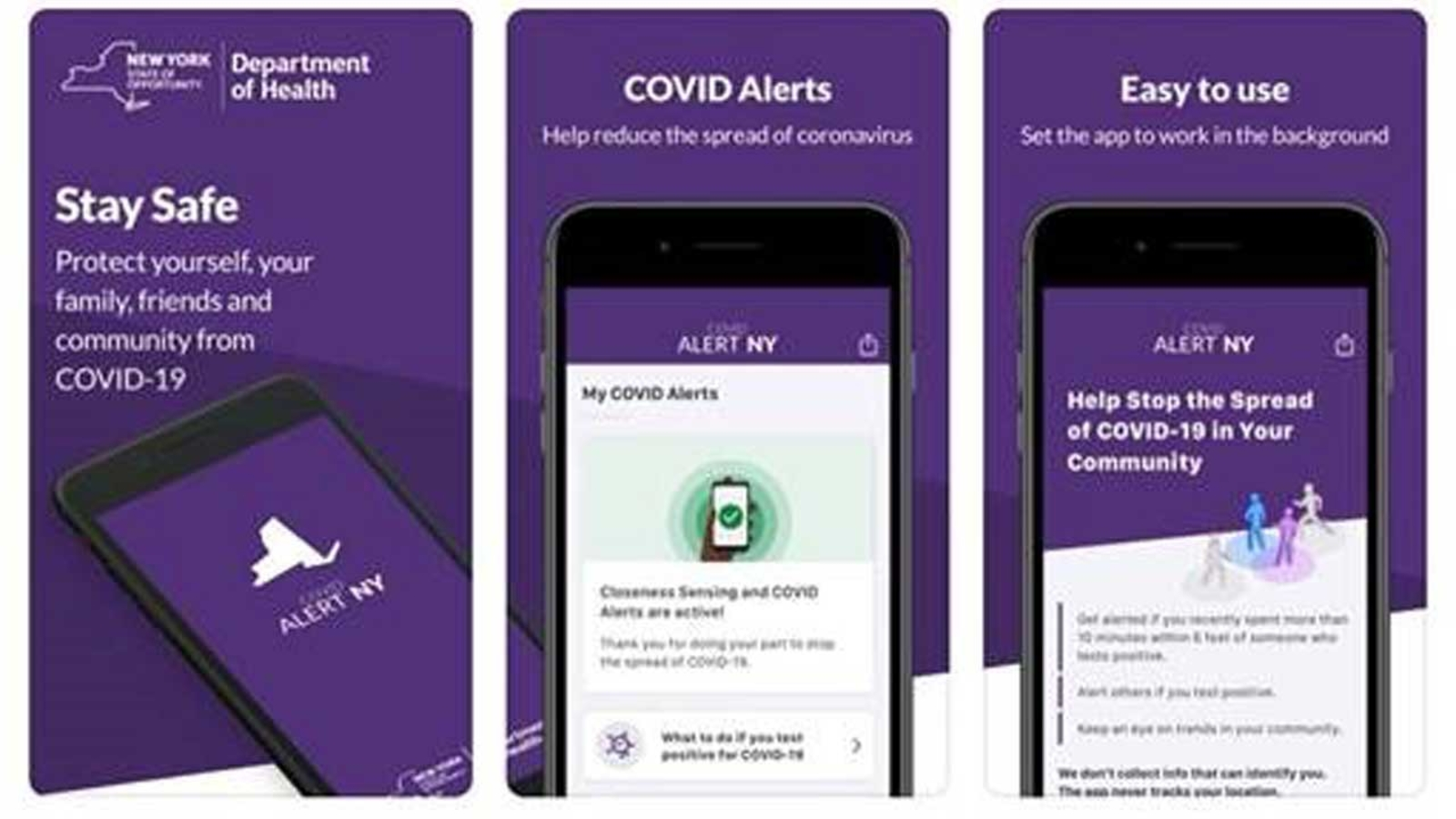 COVID News: New York, New Jersey governors announce COVID Alert app - ABC7  New York
