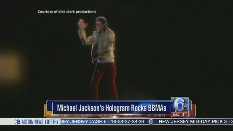 VIDEO: Michael Jackson's hologram performance