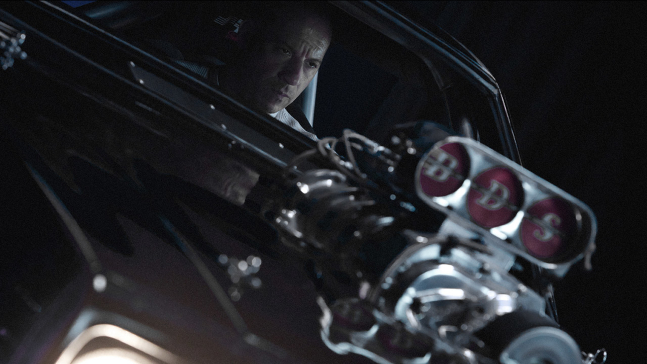 """Actor Vin Diesel is shown in a scene from """"Furious 7,"""" the latest movie from the """"Fast & Furious"""" franchise."""