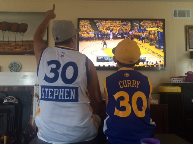 <div class='meta'><div class='origin-logo' data-origin='none'></div><span class='caption-text' data-credit='Photo sent to KGO-TV by Victor/uReport'>Golden State Warriors fans are showing off their #DubNation pride! Tag your photos on Facebook, Twitter, Google Plus, or Instagram using #DubsOn7!</span></div>