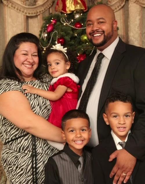 Wesley Burton family