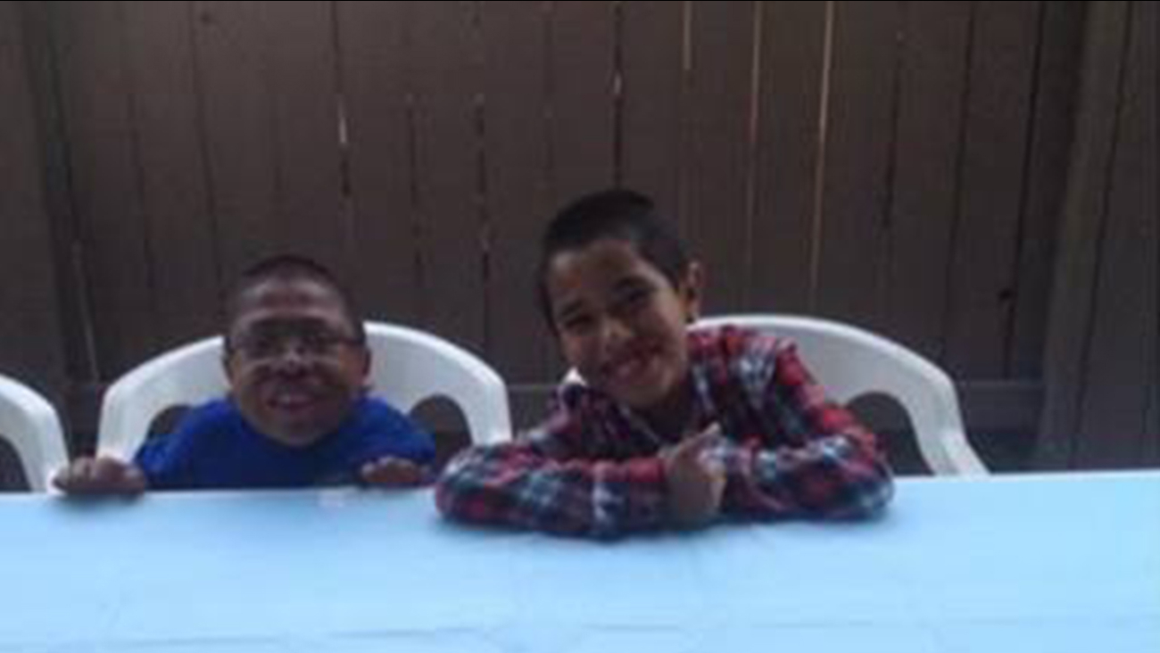 Only one person showed up for Pedro Flores' 11th birthday party in Oxnard on Saturday, April 18, 2015.