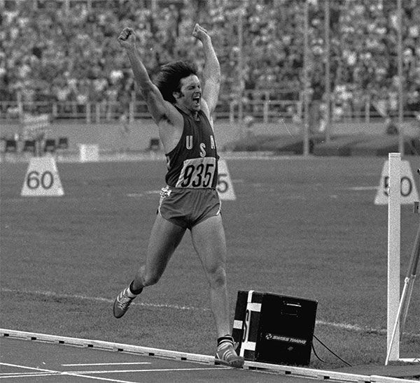 "<div class=""meta image-caption""><div class=""origin-logo origin-image none""><span>none</span></div><span class=""caption-text"">Jenner leaps jubilantly in the air after securing gold in the Olympic Decathlon in Montreal, Canada, July 30, 1976. (AP Photo)</span></div>"